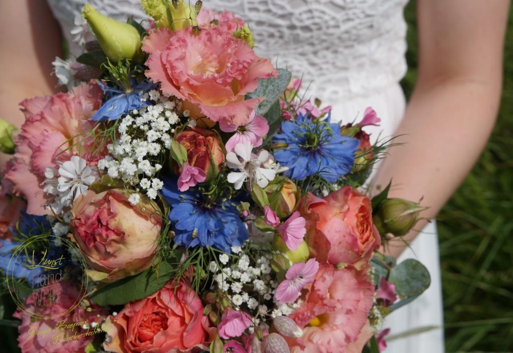 Frühsommerliche Blütenauswahl in einem harmonischen Farbzusammenspiel
