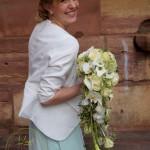 Der abfließender Brautschmuck