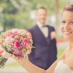 Die wundervolle Braut mit Brautschmuck